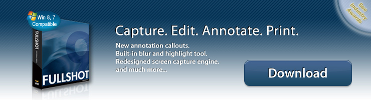 FullShot - Capture. Edit. Annotate. Print. New annotation callouts. 